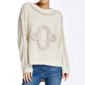 Wildfox Cable Party Sweater